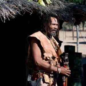 South Africa KhoiSan medicine man