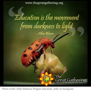 The Great Gathering Quote Beetle