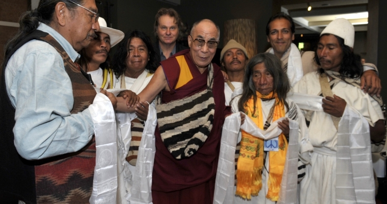 Dalai Lama and Mamos, The Great gathering