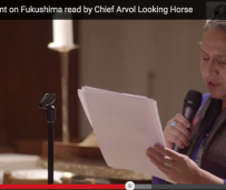Statement on Fukushima read by Chief Arvol Looking Horse and Elders